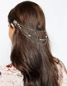 ASOS EmbellishedStone Chain Hair Combs