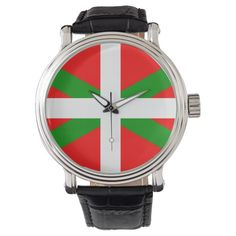 Flag of the Basque Country (Euskadi) Watch