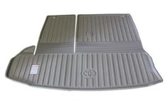 Genuine Toyota All-Weather Gray Cargo Mat PT924-48140-10. Genuine Toyota Accessories.