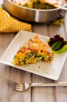 Quinoa, Spinach & Sausage Breakfast Casserole-Yes please!