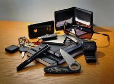 EDC  Just like the card tin and folding knife.