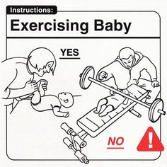 Baby tips - Imgur. You mean baby won't be bench pressing?