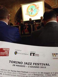 Alla presentazione della quarta edizione del #TorinoJazzFestival con #Dierre