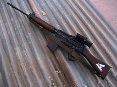 Awesome FN FAL Pic.Loading that magazine is a pain! Get your Magazine speedloader today! http://www.amazon.com/shops/raeind