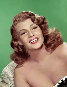Rita Hayworth, 1952.