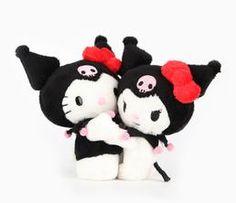 """Hello Kitty 40th Anniversary 5"""" Plush: Kuromi"""