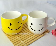 Winky cup Rainbow Colors, Ceramics, Mugs, Tableware, Things To Sell, Illustrations, Ceramica, Rainbow Colours, Pottery