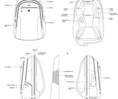 Blueprints of the iBackPack 2.0 - let us know your comments. Make sure to register at www.ibackpack.co