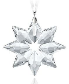 A Swarovski crystal ornament can be treasured for years to come