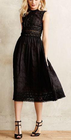 midnight romance dress