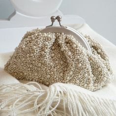 Pearl Caviar Purse