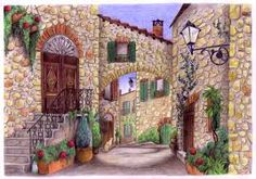 Image result for tuscan scenery