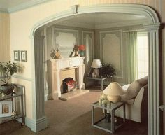 indoor+columns+for+homes | Interiors - Columns and Arches