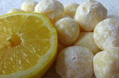 Sugarcoated: White Chocolate Lemon Truffles Definitely gonna try these! Candy Recipes, Sweet Recipes, Snack Recipes, Dessert Recipes, Cooking Recipes, Lemon Recipes, Just Desserts, Delicious Desserts, Yummy Food