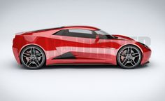 2017 Mid-Engined Chevrolet Corvette Zora (artist's rendering)