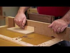 Dovetail Drawer Joinery with a Router.  Using sliding dovetails to assemble drawers.