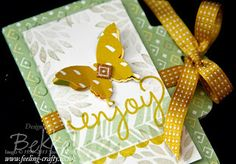 Love this mini album made with some of the 2014 Sale-A-Bration products