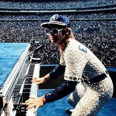 Elton John Dodger Stadium L.A.