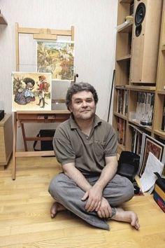 Художник-иллюстратор Владислав Ерко