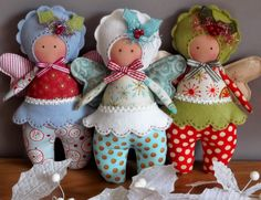 Country Keepsake Dolls: New Patterns