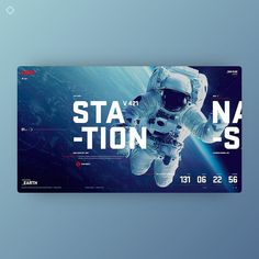 NASA by Cerebro Creativo - What do you think about this design? - Want to get featured? Gfx Design, Graphic Design, Design Web, Travel Website Design, Ui Design Patterns, User Experience, Design Reference, User Interface, Nasa