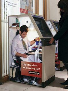 Jobsintown.de: Life's too short for the wrong job creative ads :D