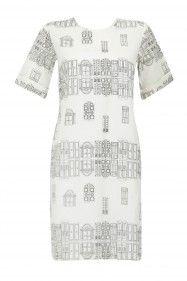 Masaba Lite dress with door print pattern dress