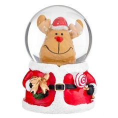 3 assorted Waterball novelty figures for you to choose from, Santa, Reindeer and Snowman ceramic figures Christmas Presents For Adults, Christmas Is Coming, Christmas 2014, Christmas Themes, Kids Christmas, Christmas Ornaments, Holiday Decor, Christmas Stuff, Stocking Fillers For Kids