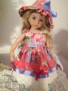 Handmade Doll Dress for Dianna Effner Little Darling, Betsy McCall,Kish Bethany