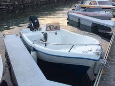 barco de pesca com consola central 4,6 polifibra - à venda - Barcos, Aveiro - CustoJusto.pt Toyota, Boat, Vehicles, Motorcycle Girls, Gone Fishing, Fishing Boats, Dinghy, Rolling Stock, Boats