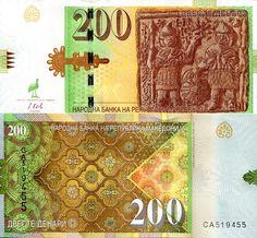 200 Denari  UNC Banknote