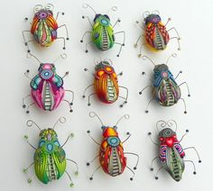 polymer clay bugs collection | Polymer Clay Creations