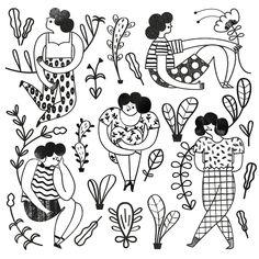Illustration for a tote bag