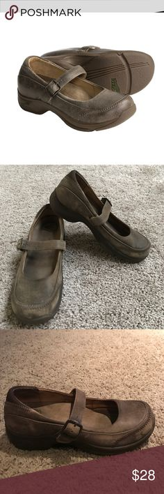 Dansko 'Kate' Distressed Leather Mary Jane Shoes Dansko 'Kate' Distressed Brown Leather Mary Jane Shoes size 38. Excellent preloved condition. Super comfortable shoes especially if you are on your feet a lot. Dansko Shoes