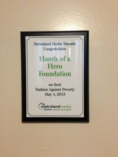 Thank you Metroland Media Toronto for the support!
