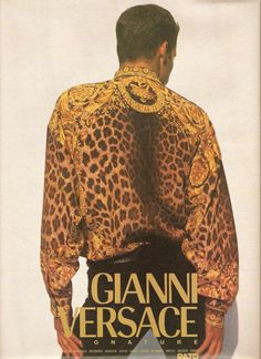 """a-state-of-bliss: """" Gianni Versace Menswear, early 90's """""""