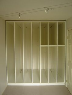 Art large Canvas storage - not sure vertical needs be solid wood - ventilation