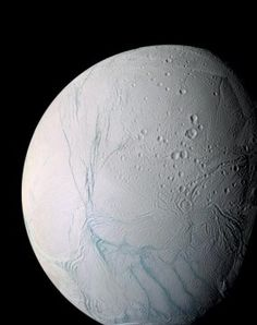In a cosmic hit-and-run, icy Saturn moon may have flipped