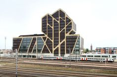 J. Mayer H. Architects, a2o-architecten, Lens°Ass Architecten, Court of Justice, Hasselt, Belgium