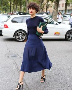 Out and about at Milan a Fashion Week #mfw -