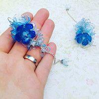earrings from plastic bottle- by catena