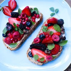 vegan-best-lifestyle:  rachelnbutler:  Fruit Toast