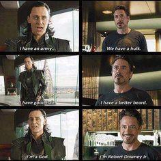 I love Robert Downey Jr.... he's so funny! lol!