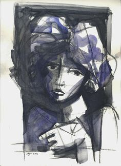 gesto: mulheres azuis - 26