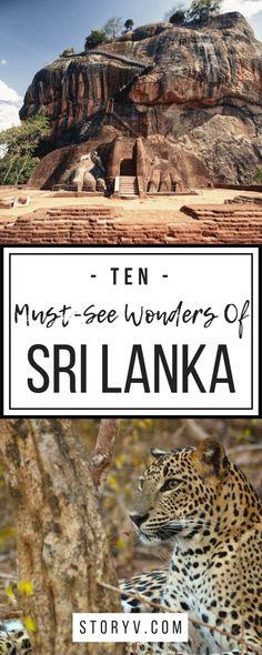 10 Amazing Must-See Wonders Of Sri Lanka – StoryV Travel & Lifestyle – Travel Destinations Europe Travel Tips, Asia Travel, Travel Destinations, Travel Guides, Travel List, Holiday Destinations, Cool Places To Visit, Places To Travel, Ultimate Travel