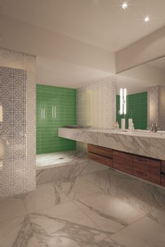 Tiles for bathroom, interior design