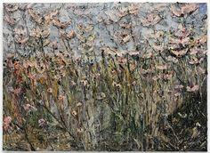 "Anselm Kiefer, ""der Morgenthau-Plan,"" Emulsion, acrylic, on photograph on canvas. 110 x 149 © Anselm Kiefer. Anselm Kiefer, Contemporary Artists, Modern Art, Abstract Landscape, Abstract Art, Gagosian Gallery, A Level Art, First Art, Oeuvre D'art"