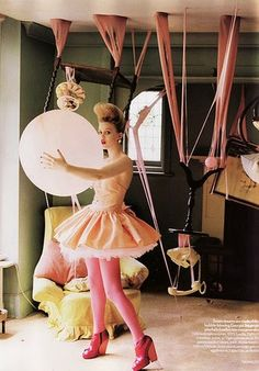tim walker's 'fantastic & fabulous fashion' balloons