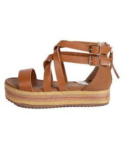 ΝΕΕΣ ΑΦΙΞΕΙΣ :: Σανδάλια Flatforms Bindings and Zippers Camel - OEM Camel, Espadrilles, Sandals, Shoes, Fashion, Espadrilles Outfit, Moda, Shoes Sandals, Zapatos