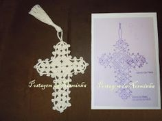 Direct link to chart - crochet cross.